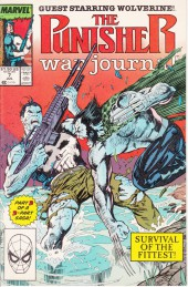 Punisher War Journal Vol.1 (Marvel comics - 1988) -7- Endangered Species