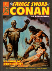 Savage Sword of Conan (The) (puis The Legend of Conan) - La Collection (Hachette) -7- La tour de l'épouvante