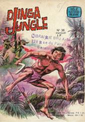 Télé série bleue (Les hommes volants, Destination Danger, etc.) -36- Djinga Jungle - Les dieux de feu