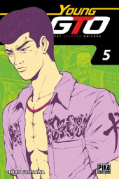 Young GTO - Shonan Junaï Gumi (Volume Double) -5- Tome 5