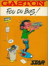 Gaston (Hors-série) -FB40- Fou du Bus - STAR