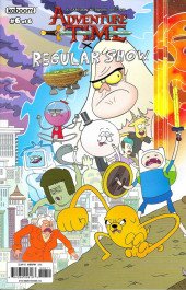 Adventure Time x Regular Show -6A- Adventure Time x Regular Show Part 6 Of 6