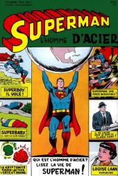 Superman l'homme d'acier puis Superman et Batman (1re Série Interpresse) -1- Superman l'homme d'acier