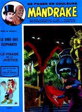 Mandrake (1re Série - Remparts) (Mondes Mystérieux - 1) -400- Le dieu des éléphants
