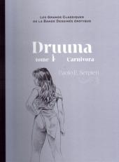 Les grands Classiques de la Bande Dessinée érotique - La Collection -4741- Druuna - Tome 4 Carnivora