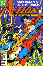 Action Comics (1938) -589- Green on Green