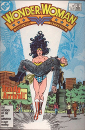 Wonder Woman Vol.2 (DC comics - 1987) -3- Deadly Arrival!