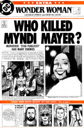 Wonder Woman (1987) -20- Who Killed Myndi Mayer?