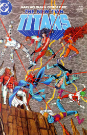 New Teen Titans Vol.2 (The) (DC comics - 1984) -3- Souls as White as Heaven... as Black as Hell