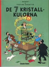 Tintin (en langues étrangères) -13Suédois- De 7 Kristall-Kulorna