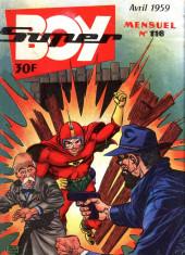Super Boy (2e série) -116- La voix sans visage