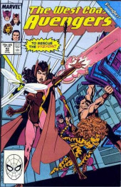 Avengers West Coast (1989) -43- Vision Quest