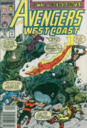 Avengers West Coast (1989) -54- The Troubled Earth