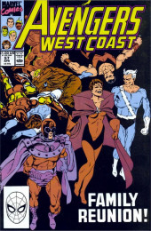 Avengers West Coast (1989) -57- Family Reunion
