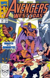 Avengers West Coast (1989) -60- Personal Magnetism