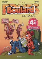Boulard -3a18- En mode écolo