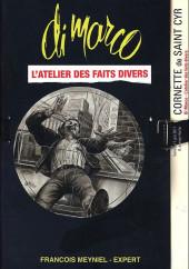 (Catalogues) Ventes aux enchères - Cornette de Saint Cyr - Cornette de Saint Cyr - Di Marco l'atelier des faits divers