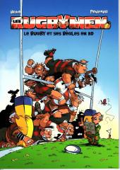 Les rugbymen -HS3FL- le rugby et ses règles en BD