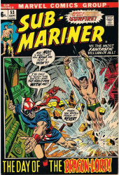 Sub-Mariner Vol.1 (Marvel - 1968) -53- The day of the Dragon-Lord !