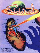 Sidéral (1re série) -28- Le mystère des empreintes géantes
