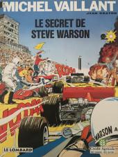 Michel Vaillant -28Pub1- Le Secret de Steve Warson