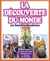 La découverte du monde en bandes dessinées -INT05- Cap sur l'Australie - Capitaine Cook - Le