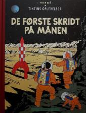 Tintin (en langues étrangères) -17danois- De forste skridt pa manen