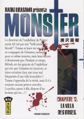 Monster (Urasawa) -12- La villa des roses
