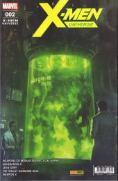 X-Men Universe (Marvel France - 2017) -2- Armes de destruction mutante (1/2)