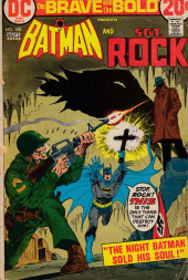 Brave And the Bold (1955) -108- Batman and Sgt. Rock