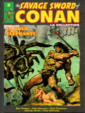 Savage Sword of Conan (The) (puis The Legend of Conan) - La Collection (Hachette) -8- La tour éléphante