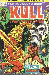 Kull the Destroyer (1973) -13- Torches from hell!