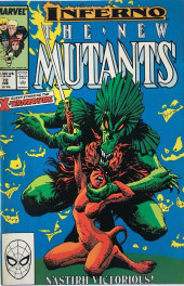 New Mutants (The) (1983) -72- Demon Reign