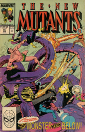 New Mutants (The) (1983) -76- Splash!