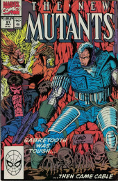 New Mutants (The) (1983) -91- Prey for the Living