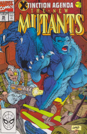 New Mutants (The) (1983) -96- United We Stand (X-Tinction Agenda, Pt. 5)