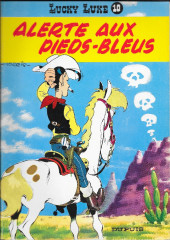 Lucky Luke -10b83- Alerte aux pies-bleux