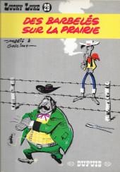 Lucky Luke -29a83- Des barbelés sur la prairie