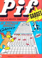 Pif (Gadget) -118- La bataille navale gadget