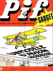 Pif (Gadget) -120- Un modèle d'avion historique au 1/100ème