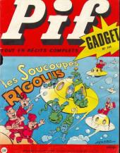 Pif (Gadget) -144- Les soucoupes rigolus