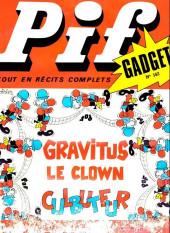Pif (Gadget) -152- Gravitus le clown culbuteur