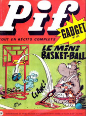 Pif (Gadget) -174- Le mini basket-ball