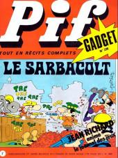 Pif (Gadget) -228- Le sarbacolt