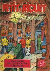 Petit-Riquet reporter -57- L'enigme du quartier chinois