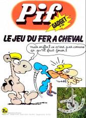 Pif (Gadget) -283- Le jeu du fer à cheval