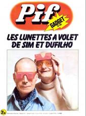 Pif (Gadget) -285- Les lunettes à volet de sim et dufilho