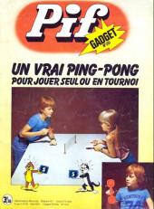 Pif (Gadget) -291- Un vrai ping-pong