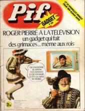 Pif (Gadget) -299- Roger pierre à la télévision