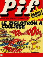 Pif (Gadget) -184- Le zyglotron à coulisse